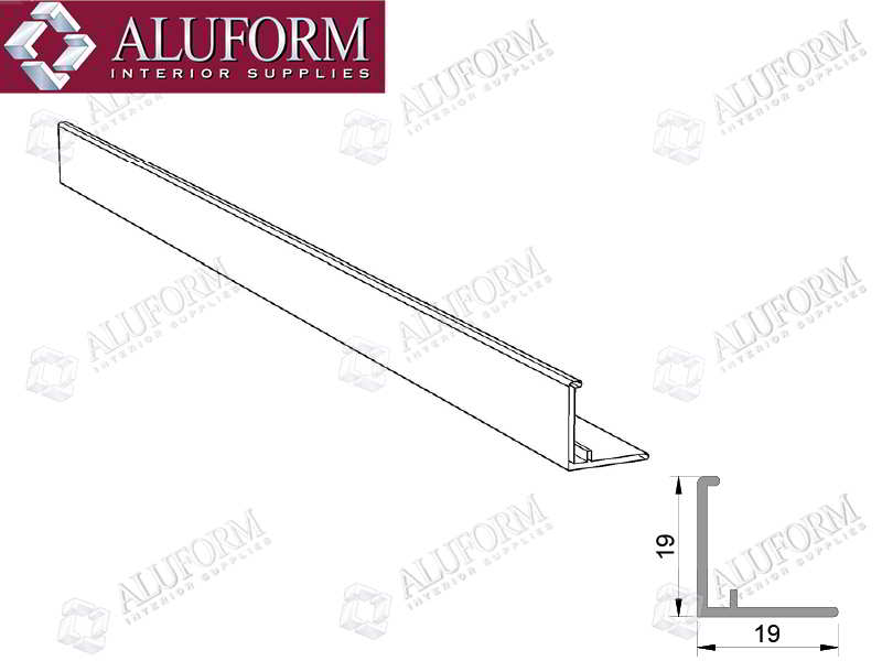 Aluminium Wall Angles & Trims | Aluform Interior Supplies