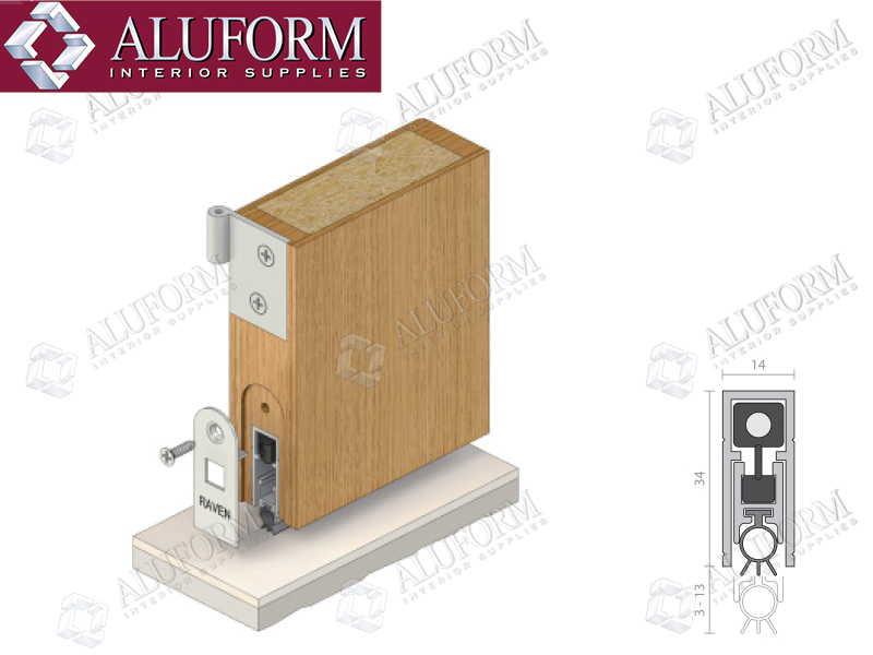 Automatic Drop Down Seals Aluform Interior Supplies