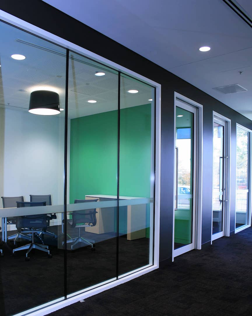 Aluminium Partition Systems & Suites Suppliers for commercial industry