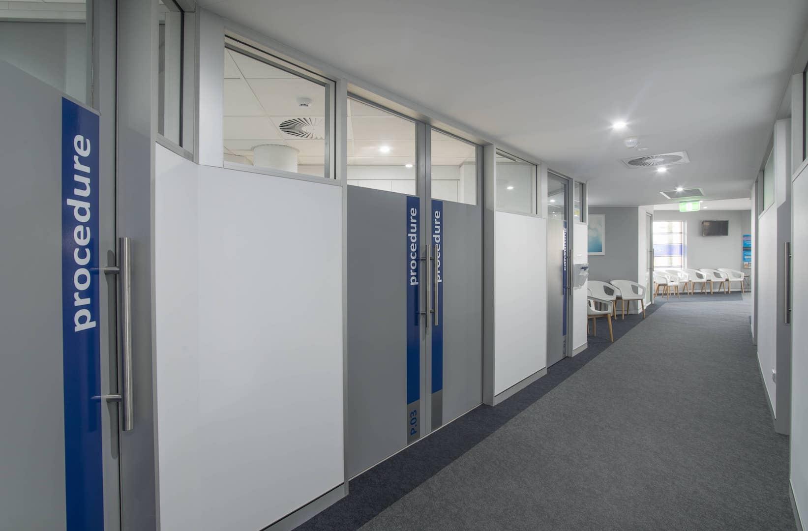 Specialist Eye Centre Aluform Interior Supplies