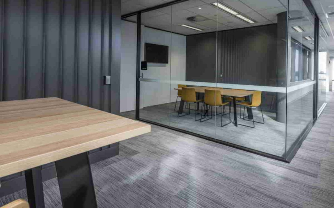 Black is the new White in Workspace Interiors