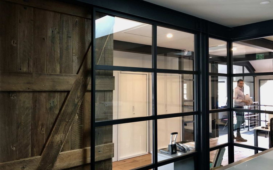 Series 45 Lineation Suite | Aluform's new slimline partition system